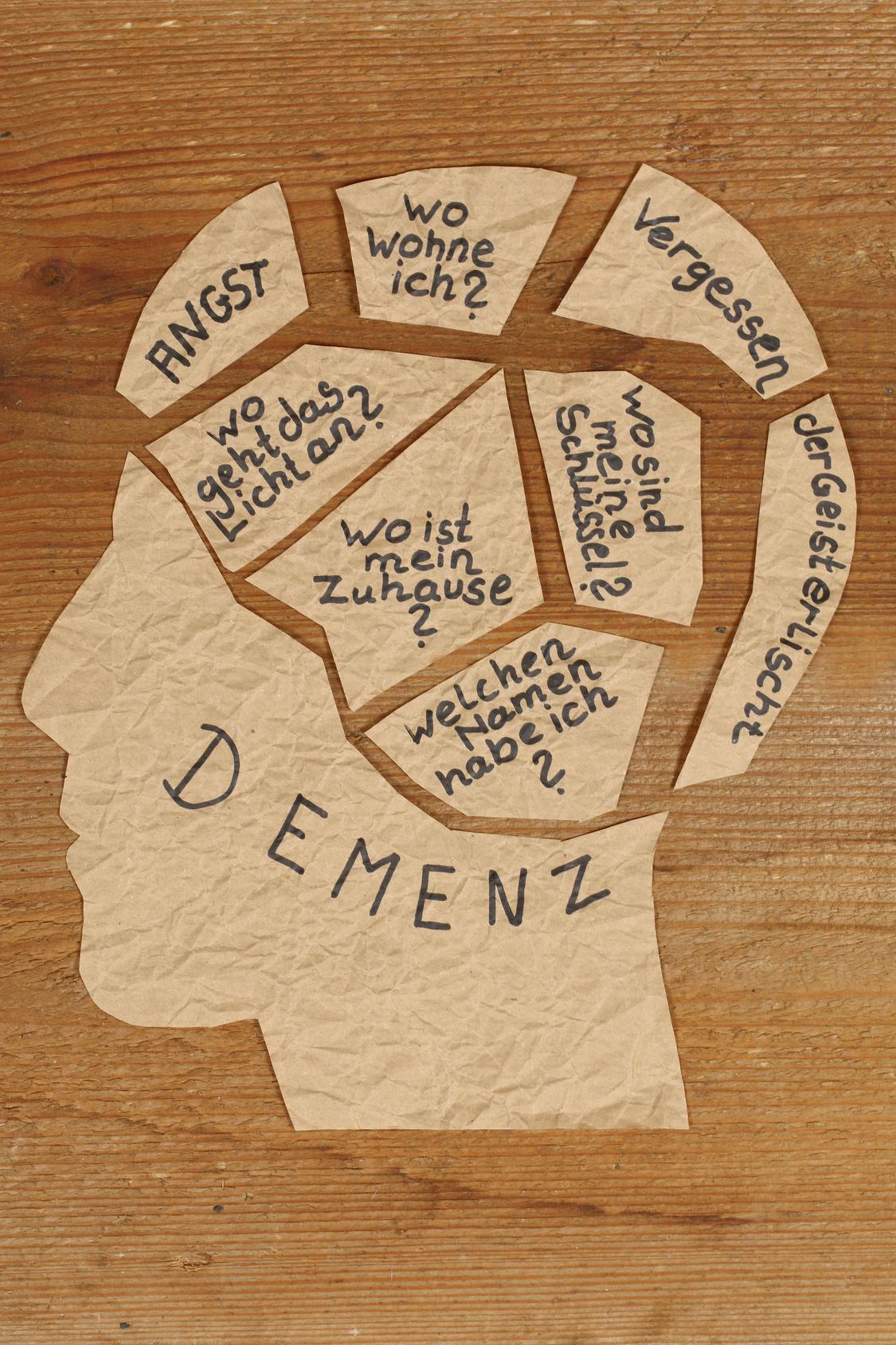 sekundäre demenz verlauf